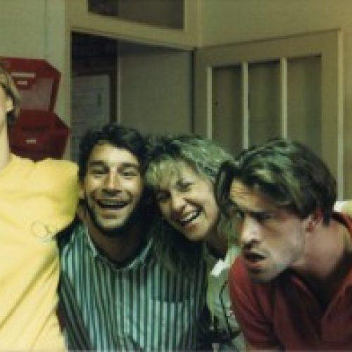 1989 - 3e mi-temps - Eric - Véro - Nono